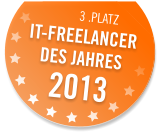 IT Freelancer des Jahres 2013